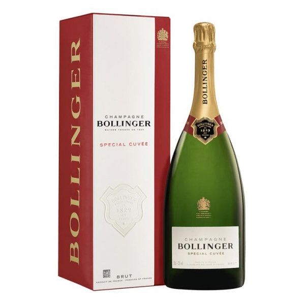 Bollinger Champagne - Special Cuvée Magnum Champagne - Box - Pinot Noir - Luxury Limited Edition - 1,5 l