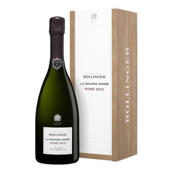 Bollinger Champagne - La Grande Année Rosè Champagne - 2012 - Astucciato - Pinot Noir - Luxury Limited Edition - 750 ml