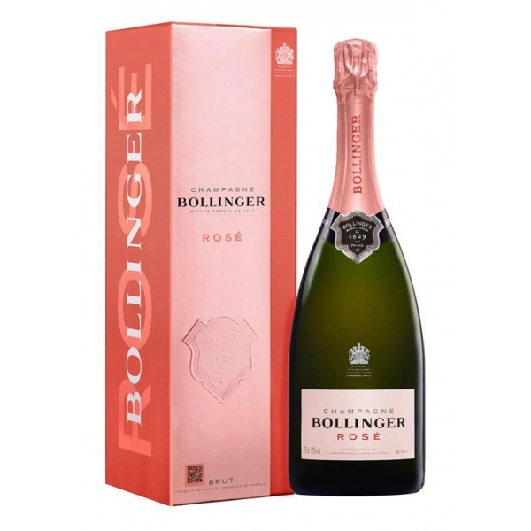 Bollinger Champagne - Bollinger Rosè Champagne - Box - Pinot Noir - Luxury Limited Edition - 750 ml