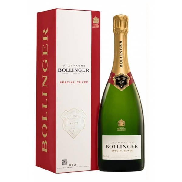 Bollinger Champagne - Special Cuvée Champagne - Astucciato - Pinot Noir - Luxury Limited Edition - 750 ml