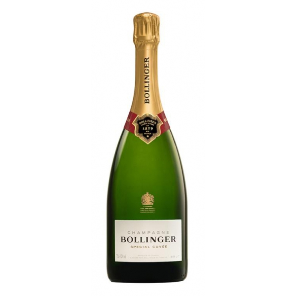 Bollinger Champagne - Special Cuvée Champagne - Pinot Noir - Luxury Limited Edition - 750 ml