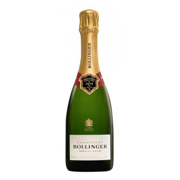 Bollinger Champagne - Special Cuvée Champagne - Pinot Noir - Luxury Limited Edition - 375 ml