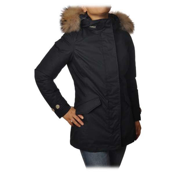 Woolrich - Artic Parka 3in1 con Lunghezza Sopra Ginocchio - Blu - Giacca - Luxury Exclusive Collection