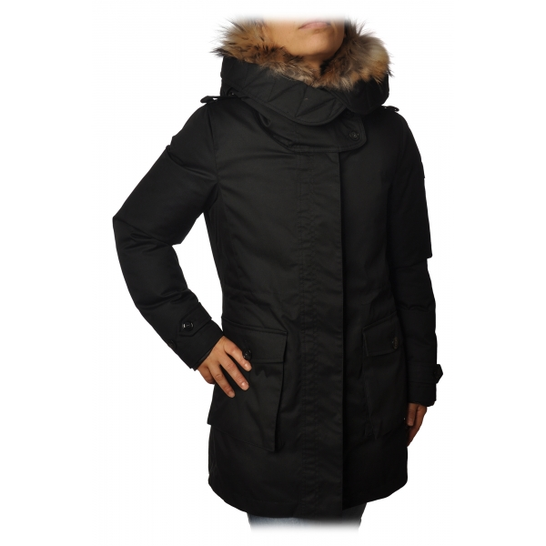 Woolrich - Piumino Parka Scarlett - Nero - Giacca - Luxury Exclusive Collection