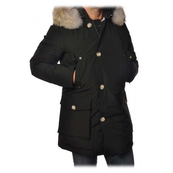 Woolrich -  Arctic Parka Con Pelliccia Removibile - Nero - Giacca - Luxury Exclusive Collection