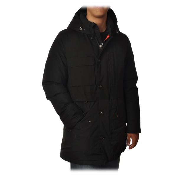 Woolrich - Teton Parka with Hood - Black - Jacket - Luxury Exclusive Collection