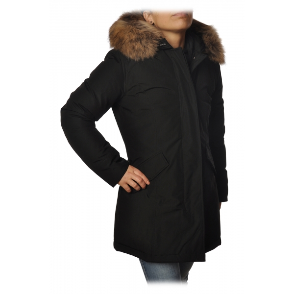 Woolrich - Artic Parka With Racoon Fur - Black - Jacket - Luxury Exclusive Collection