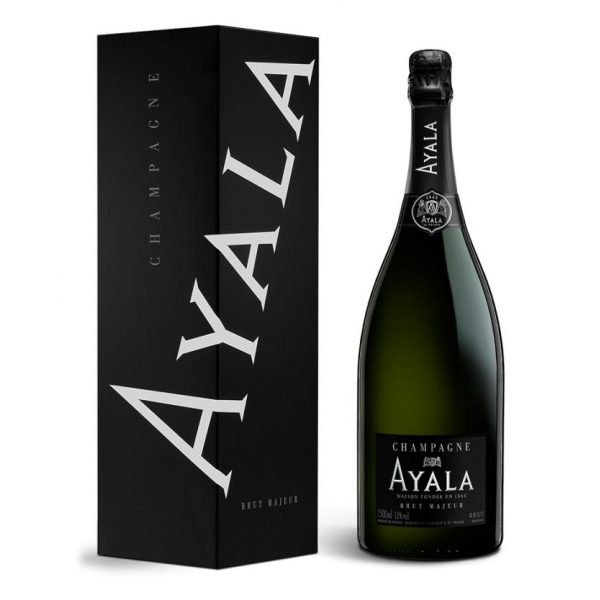 Champagne Ayala - Brut Majeur Ayala - Magnum - Box - Pinot Noir - Luxury Limited Edition - 1,5 l