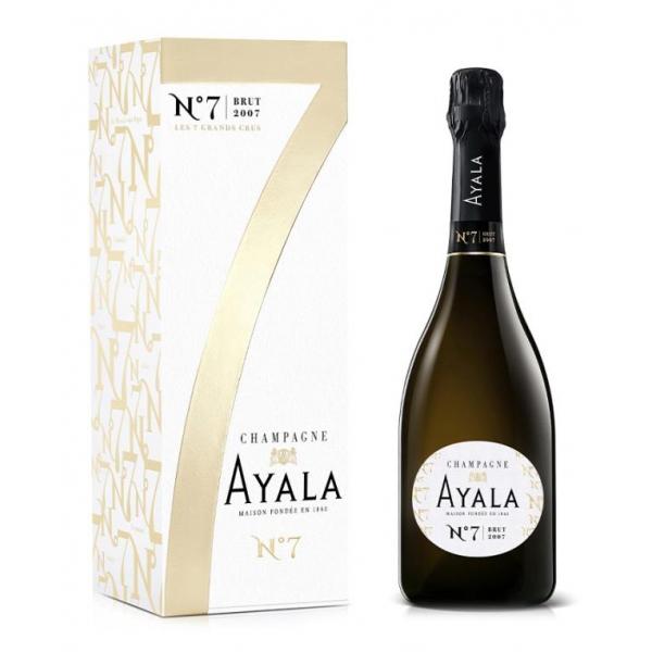 Champagne Ayala - Brut Ayala Collection N°7 - 2007 - Box - Pinot Noir - Luxury Limited Edition - 750 ml