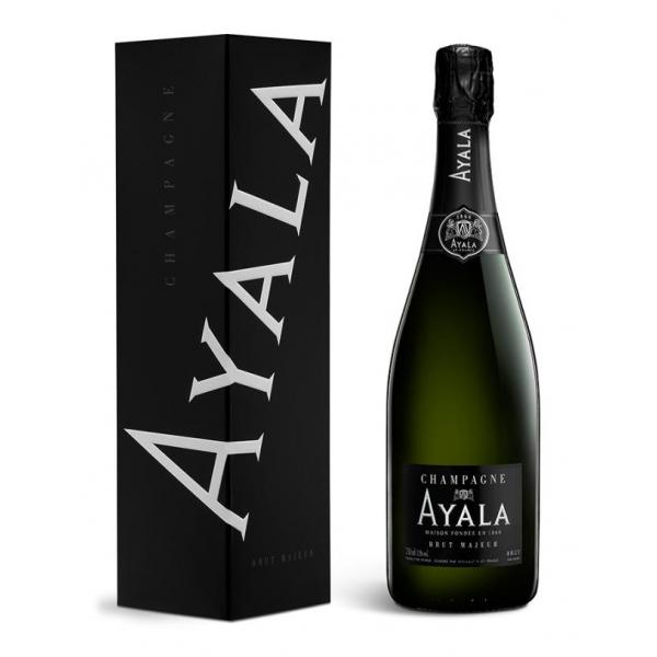 Champagne Ayala - Brut Majeur Ayala - Box - Pinot Noir - Luxury Limited Edition - 750 ml