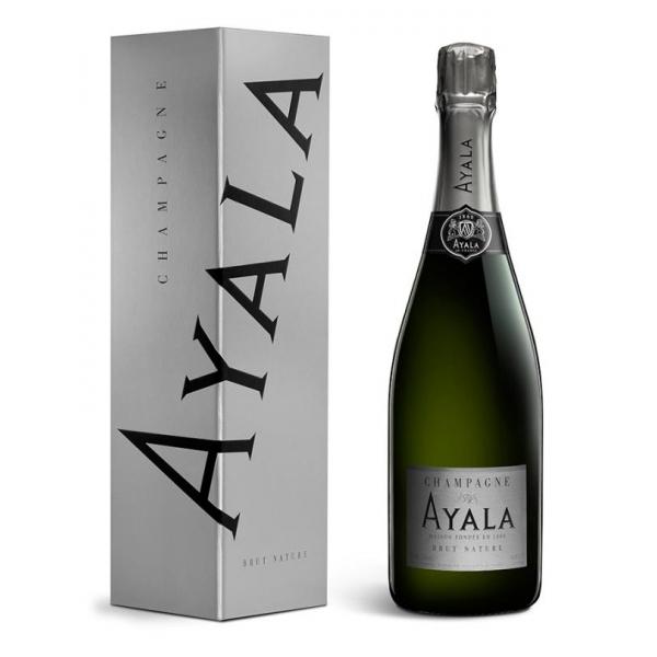 Champagne Ayala - Brut Nature Ayala Silver Edition - Box - Pinot Noir - Luxury Limited Edition - 750 ml