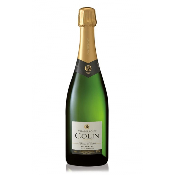 Champagne Colin - Champagne Blanche De Castille Premier Cru - Magnum - Chardonnay - Luxury Limited Edition - 1,5 l