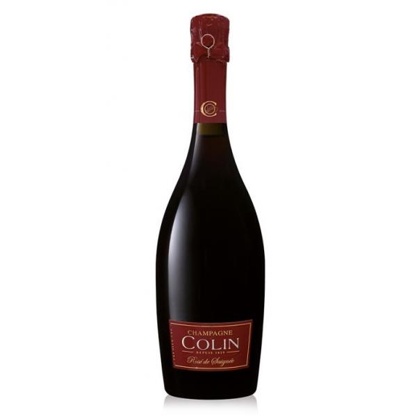 Champagne Colin - Champagne Rosé De Saignée Millésime - 2012 - Pinot Noir - Luxury Limited Edition - 750 ml