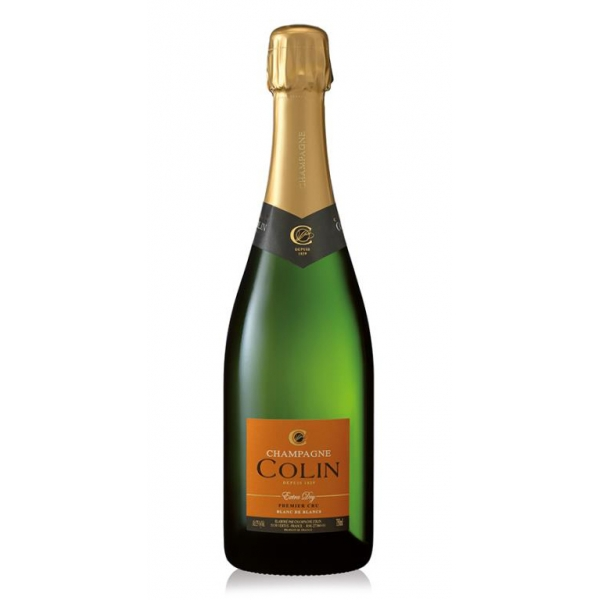 Champagne Colin - Champagne Extra Dry Premier Cru - Chardonnay - Luxury Limited Edition - 750 ml