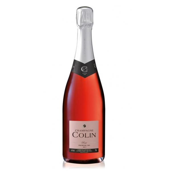 Champagne Colin - Champagne Rosé Premier Cru - Chardonnay - Luxury Limited Edition - 750 ml