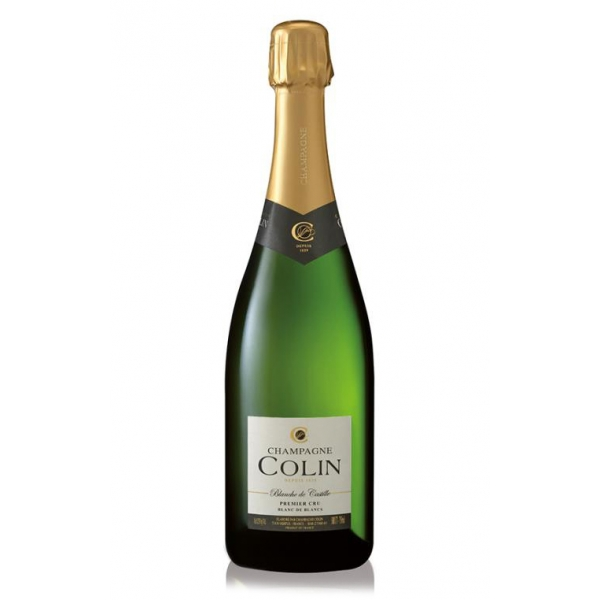 Champagne Colin - Champagne Blanche De Castille Premier Cru - Chardonnay - Luxury Limited Edition - 750 ml