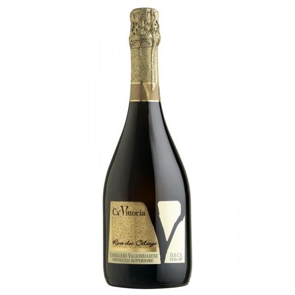 Ca' Vittoria - Riva dei Ciliegi Conegliano Valdobbiadene - Prosecco Superiore D.O.C.G. Extra Dry - Magnum - Prosecco e Spumanti