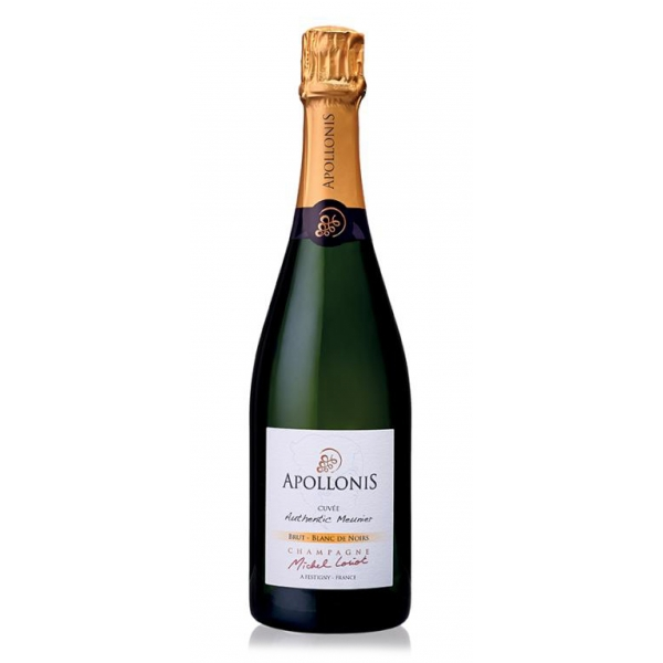 Champagne Apollonis - Authentic Meunier Blanc De Noirs Champagne - Magnum - Pinot Meunier - Luxury Limited Edition - 1,5 l