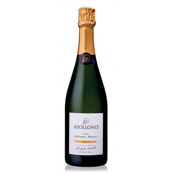 Champagne Apollonis - Authentic Meunier Blanc De Noirs Champagne - Astucciato - Pinot Meunier - Luxury Limited Edition