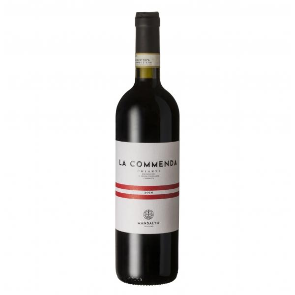 Mansalto Toscana - La Commenda Chianti D.O.C.G. Toscana - Vino Rosso