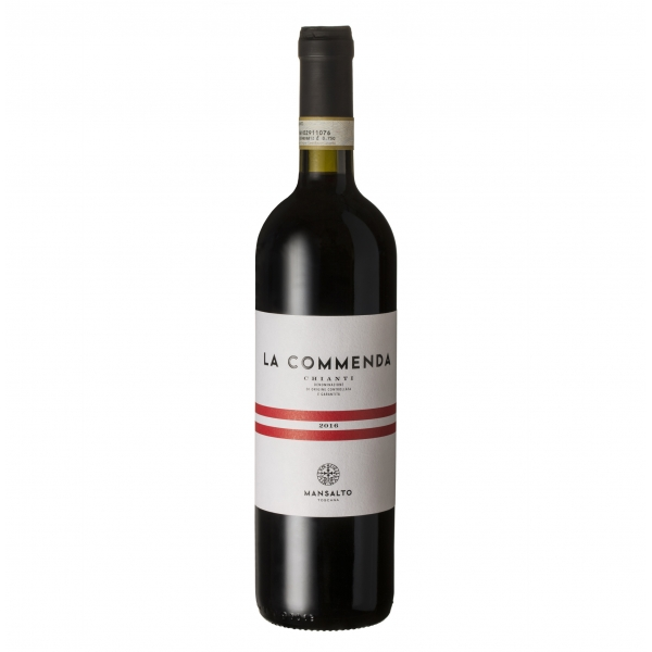 Mansalto Tuscany - La Commenda Chianti D.O.C.G. Tuscany - Rapale Castle - Red Wine