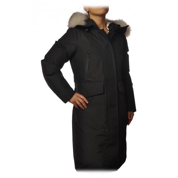 Peuterey - Nascha Jacket Model Midi Length - Black - Jacket - Luxury Exclusive Collection