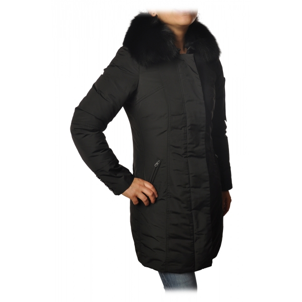 Peuterey - Metropolitan 3/4 Length Jacket - Black - Jacket - Luxury Exclusive Collection