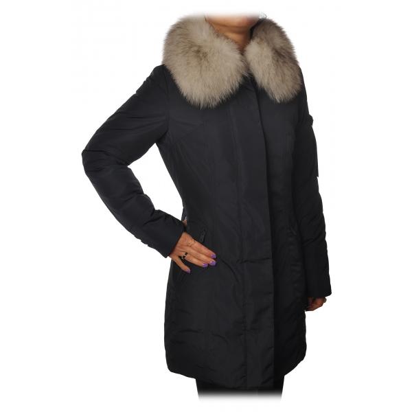 Peuterey - Metropolitan 3/4 Screwed Model Jacket - Blue - Jacket - Luxury Exclusive Collection