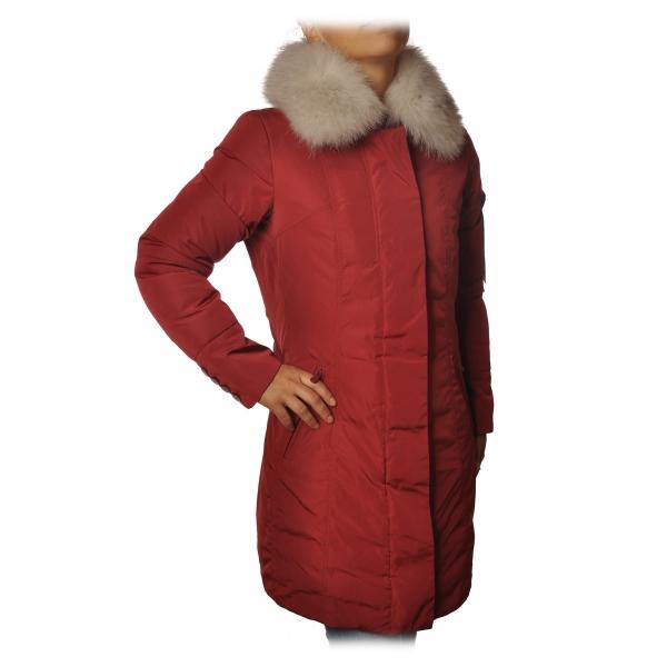Peuterey - Metropolitan 3/4 Screwed Model Jacket - Red - Jacket - Luxury Exclusive Collection