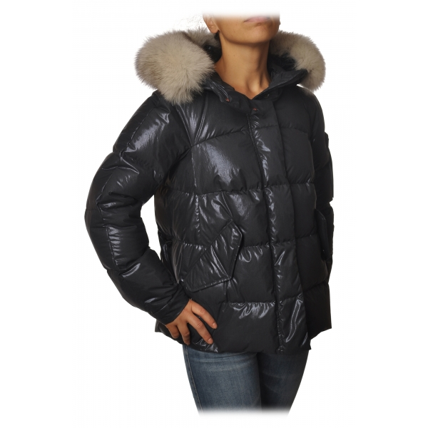 Peuterey - Mils Short Trapeze Model Jacket - Blue - Jacket - Luxury Exclusive Collection