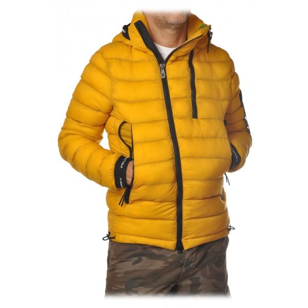 Peuterey - Eze Short Model Jacket with Hood - Mustard - Jacket - Luxury Exclusive Collection