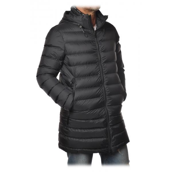 Peuterey - Rubio Jacket 3/4 Model with Hood - Blue - Jacket - Luxury Exclusive Collection