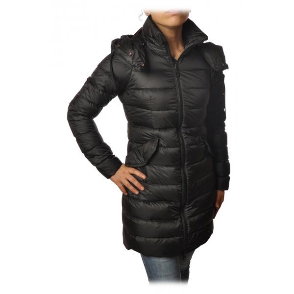 Peuterey - Fayola Jacket 3/4 Screwed Model - Black - Jacket - Luxury Exclusive Collection