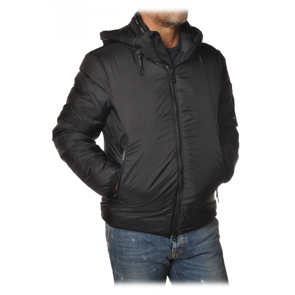 Peuterey - Abdu / Knc Jacket with Standing Collar and Removable Hood - Black - Jacket - Luxury Exclusive Collection
