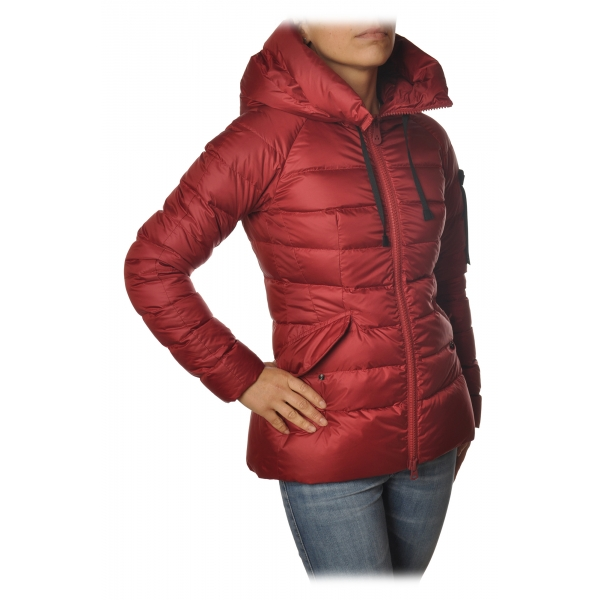 Peuterey - Short Down Jacket with Hood - Red - Jacket - Luxury Exclusive Collection