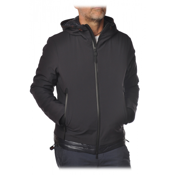 Peuterey - Badu Jacket in Technical Fabric with Hood - Blue - Jacket - Luxury Exclusive Collection