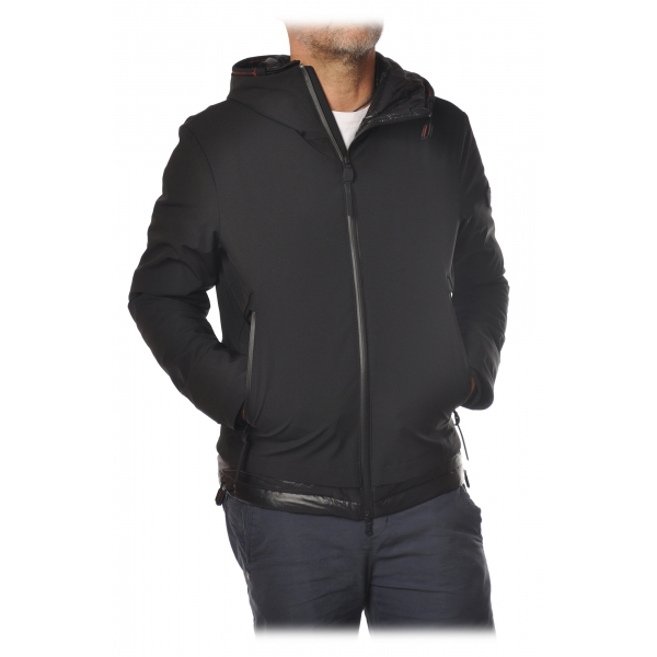 Peuterey - Badu Jacket in Technical Fabric with Hood - Black - Jacket - Luxury Exclusive Collection