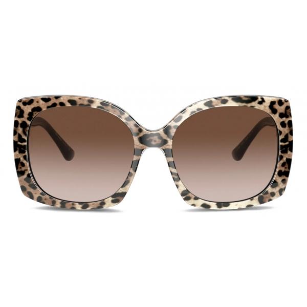 Dolce & Gabbana - Occhiale da Sole Print Family - Stampa Leo - Dolce & Gabbana Eyewear