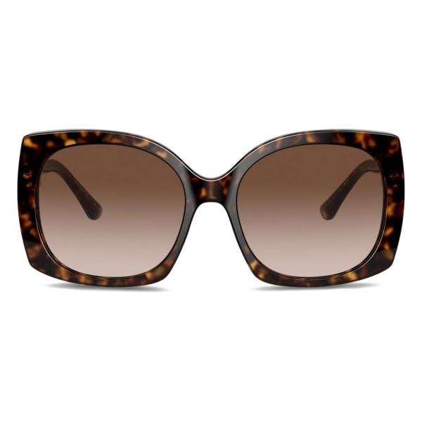 Dolce & Gabbana - Print Family Sunglasses - Havana - Dolce & Gabbana Eyewear