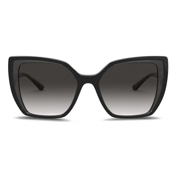 Dolce & Gabbana - Occhiale da Sole Line - Nero - Dolce & Gabbana Eyewear