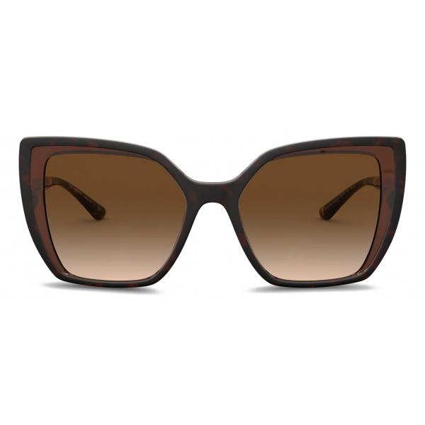 Dolce & Gabbana - Line Sunglasses - Havana - Dolce & Gabbana Eyewear