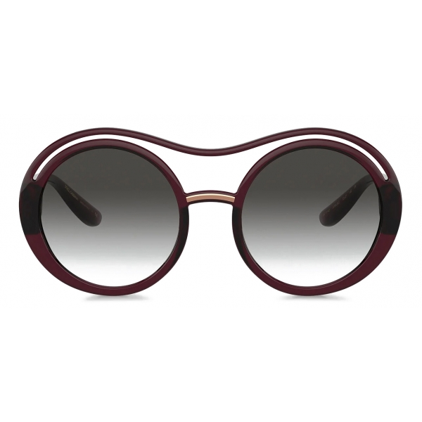 Dolce & Gabbana - DG Monogram Sunglasses - Burgundy - Dolce & Gabbana Eyewear
