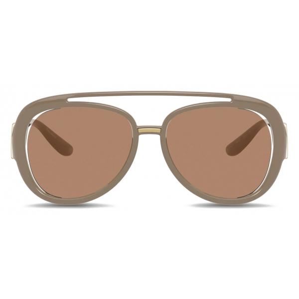 Dolce & Gabbana - Occhiale da Sole DG Monogram - Rosa - Dolce & Gabbana Eyewear