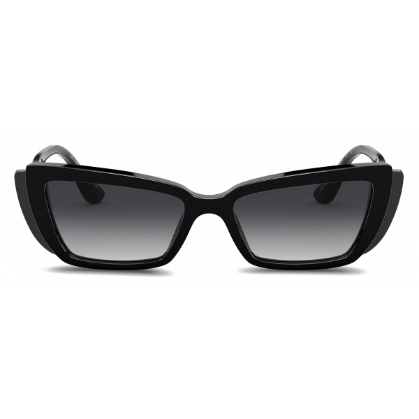 Dolce & Gabbana - Occhiale da Sole DG Monogram - Nero - Dolce & Gabbana Eyewear