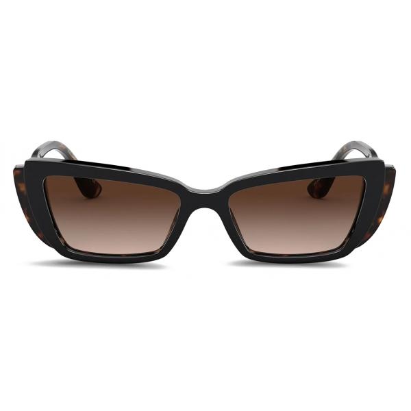 Dolce & Gabbana - DG Monogram Sunglasses - Havana - Dolce & Gabbana Eyewear