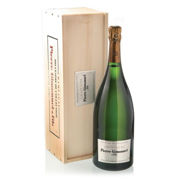 Champagne Pierre Gimonnet - Millésime de Collection - 2006 - Magnum - Astucciato - Chardonnay - Luxury Limited Edition - 1,5 l