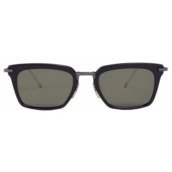Thom Browne - Black Wayfarer Sunglasses - Thom Browne Eyewear