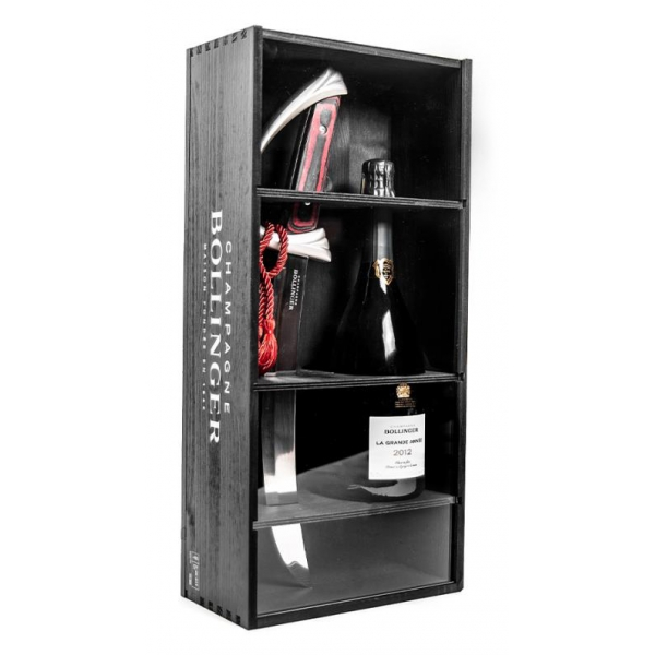 Bollinger Champagne - La Grande Année Rosè Sciabolly - 2012 - Box - Pinot Noir - Luxury Limited Edition - 750 ml