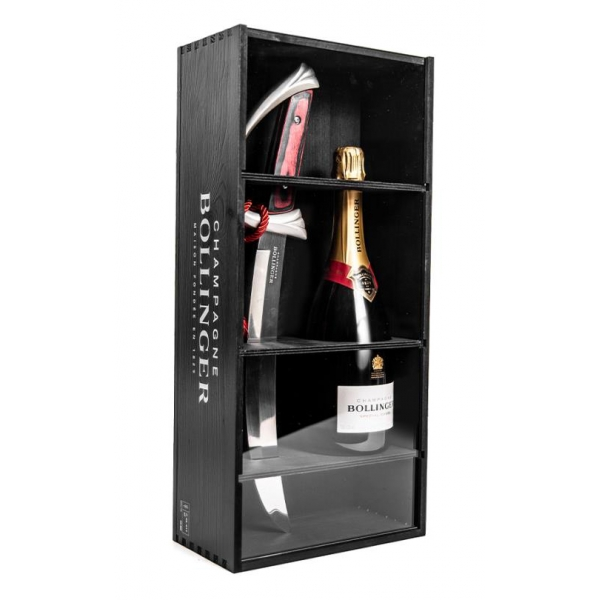 Bollinger Champagne - Special Cuvée Sciabolly - Box - Pinot Noir - Luxury Limited Edition - 750 ml