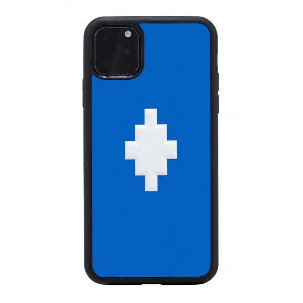 Marcelo Burlon - Cover 3D Cross Blue - iPhone 11 Pro Max - Apple - County of Milan - Cover Stampata